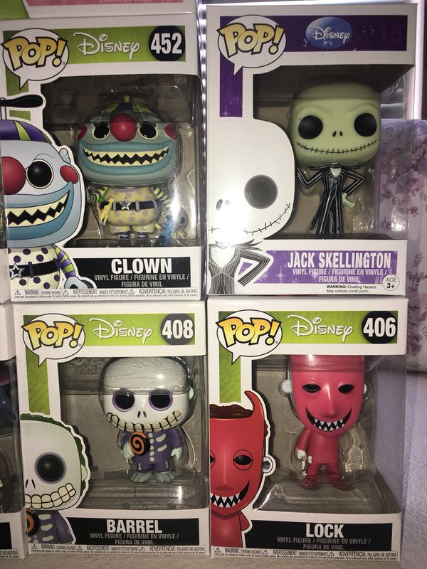 A Nightmare Before Christmas Funko Pops Lot