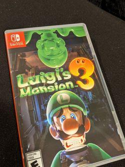 Luigi's Mansion 3 Nintendo Switch for Sale in Winston-Salem,  NC