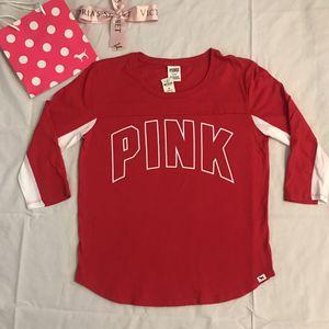 VS PINK 3/4 Length Sleeve baseball tee (m) for Sale in Las Vegas, NV