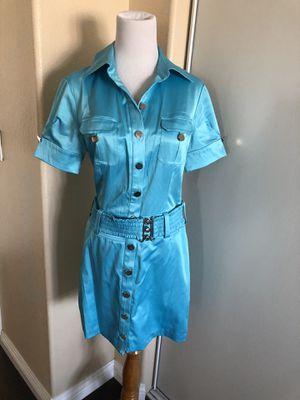 2b bebe blue dress size small for Sale in Rosemead, CA