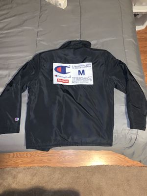 Supreme x Champion Coach jacket for Sale in Gaithersburg, MD