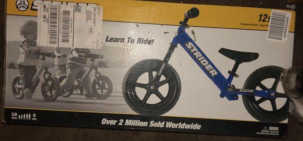 KIDS BIKE Strider toddler bike BRAND NEW
