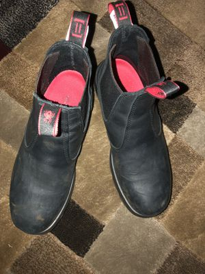 Size 12 Redback work boots worn twice for Sale in Hazelwood, MO