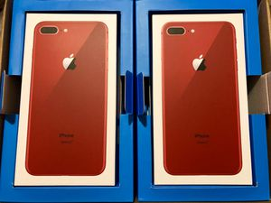 Finance New Unlocked iPhone 8 Plus Red - Pay just $30 down today! for Sale in Providence, RI