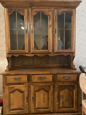 Wooden hutch for Sale in Fort Worth, TX