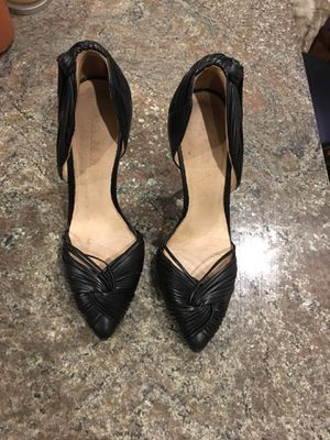 Sz 6 genuine leather L.A.M.B heels for Sale in Boston, MA