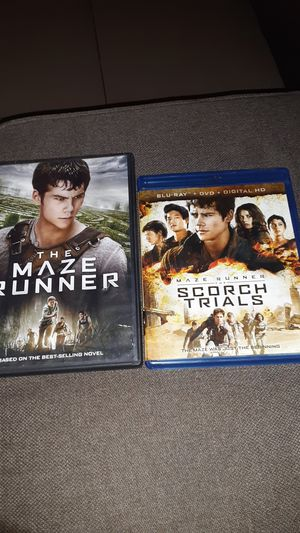 The Maze runner and Maze runner scorch trials for Sale in La Verne, CA