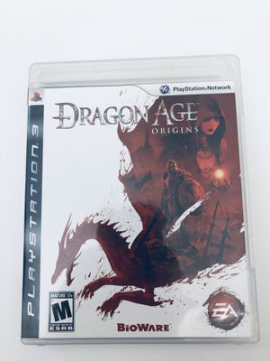 PS3 Video Game Dragon Age Origins Tested for Sale in Fuquay-Varina, NC
