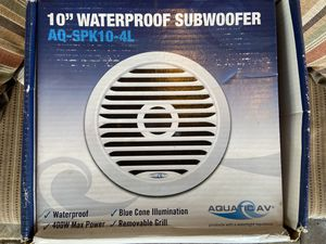 Marine subwoofer - brand new for Sale in Pompano Beach, FL