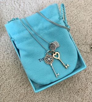 Tiffany and Co. Keys and Heart Tag Necklace for Sale in Alhambra, CA
