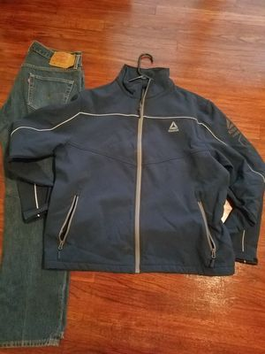 Jacket Reebok, Jean's Levi's for Sale in Dallas, TX
