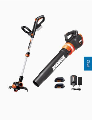 NEW! WORKS 2-Piece 20-Volt Max Cordless Power Equipment Combo Kit for Sale in Jacksonville, FL