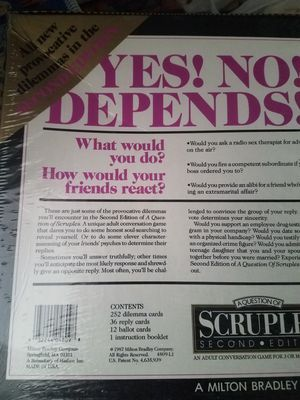 A question of Scruples *Second edition for Sale in Aberdeen, WA