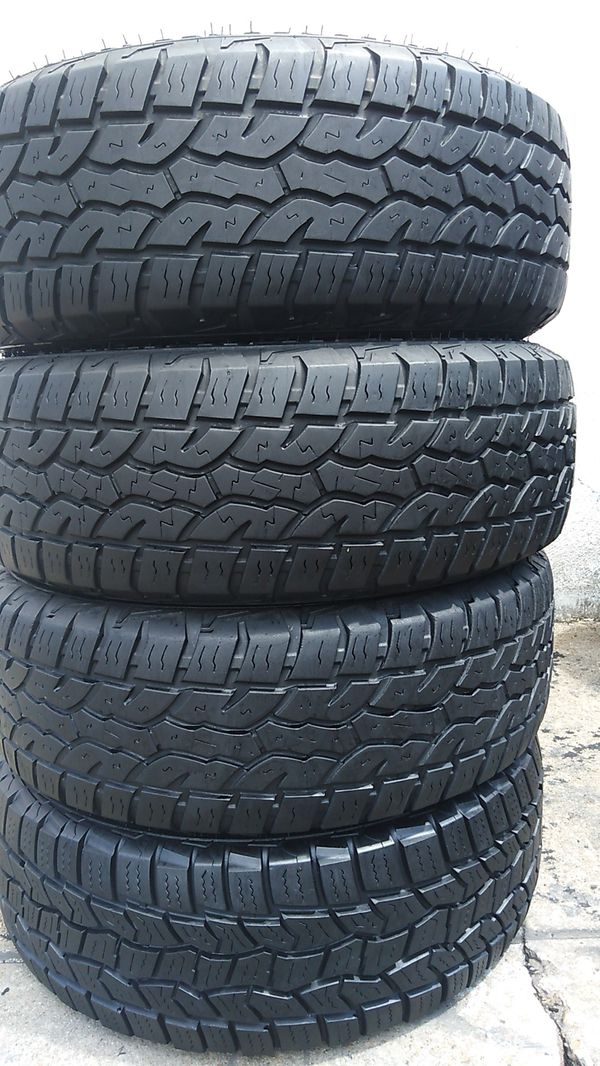 Four good tires for sale 265/70/16