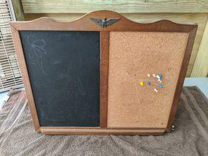 Chalk and cork board decorative possibly antique for Sale in Port Charlotte, FL