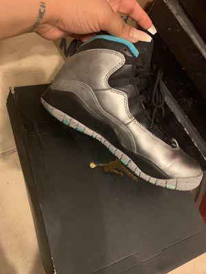 Retro 10 Jordan Lady Liberty shoes (6) & Shirt (M) for Sale in Saint Petersburg, FL