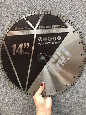 """14"""" Turbo Segmented General Purpose Diamond Blade for Sale in Pompano Beach, FL"""