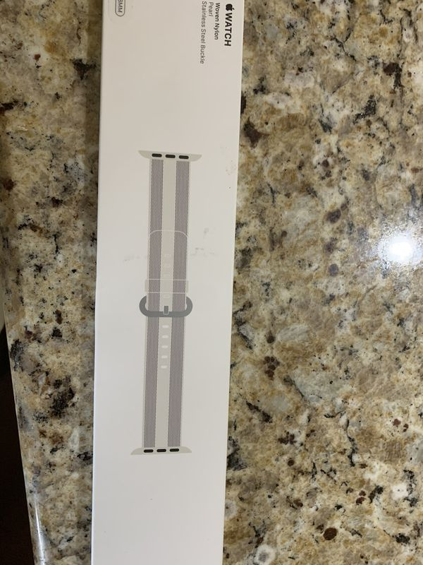 Apple Watch 38 MM woven Nylon Pear Band
