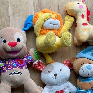 Laugh, Sing & Learn Plush Teddies- Babies for Sale in Atlanta, GA
