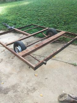 Trailer base diy base for home made trailer for Sale in Takoma Park,  MD