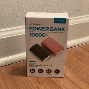 New ROSMOSS Power Bank 10000 mAh for Sale in Charleston, SC