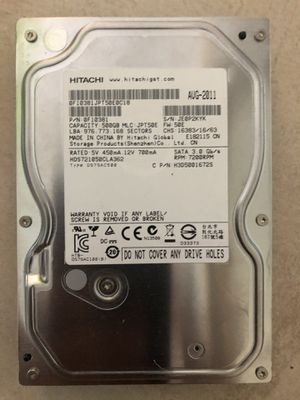500 Gb hard drive for desktop computer for Sale in San Diego, CA