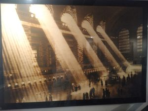 Art work of grand central station for Sale in North Attleborough, MA