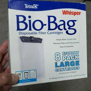 Tetra Whisper Filter Bio-Bags for Sale in Chandler, AZ