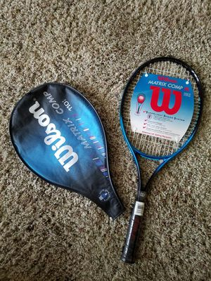 Wilson tennis racket please see pictures brand new for Sale in Mystic Islands, NJ