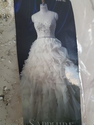 Wedding dress size 10 for Sale in Placentia, CA
