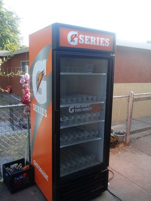 Gatorade fridge with shelves works great for Sale in Stockton, CA