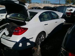 Selling Parts for a White 2012 Hyundai Genesis STK#1494 for Sale in Warren, MI