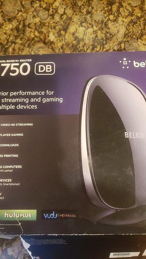 Belkin N750 Wi-Fi Dual-Band N+ Router for Sale in Las Vegas, NV