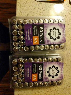 120 AA batteries for Sale in Rockville, MD