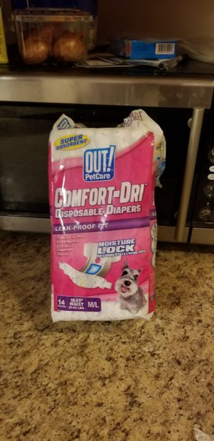 Female dog diapers for Sale in Brunswick, OH