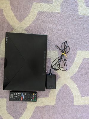 Sony Smart Blu-ray/DVD player (connects to WiFi) plus 25 DVDs, 9 Blu-ray, 1 Xbox 360 game for Sale in Seattle, WA