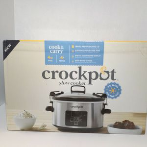 Crock-Pot 4 qt. Cook & Carry Slow Cooker for Sale in Charlotte, NC