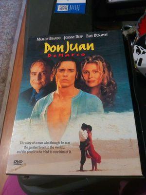 DVD Don Juan DeMarco for Sale in Pomona, CA