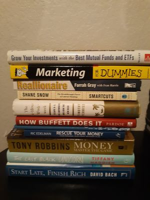 Book collection $4 each for Sale in DeSoto, TX