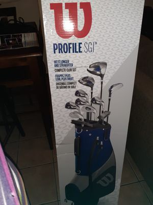 Wilson Profile SGI Golf Set for Sale in Baton Rouge, LA