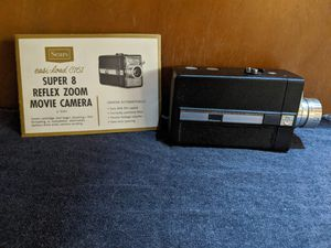 Vintage Sears Roebuck super 8 movie camera with zoom for Sale in Ravensdale, WA