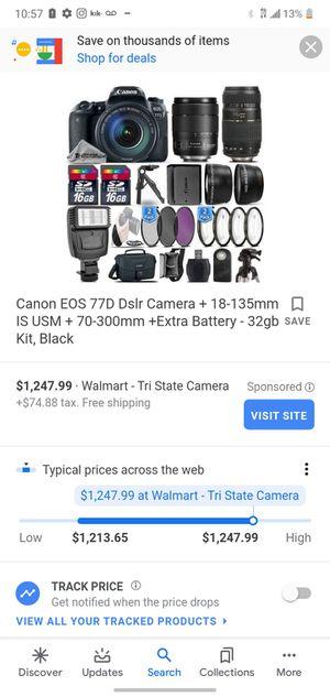 Cannon camera for Sale in Detroit, MI
