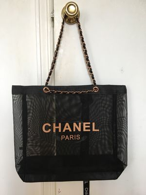 Authentic BRAND NEW/ NEVER USED VIP GIFT Chanel Mesh Tote! for Sale in Island Park, NY