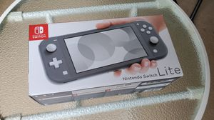 New! Nintendo Switch Lite grey console with game for Sale in Lutz, FL