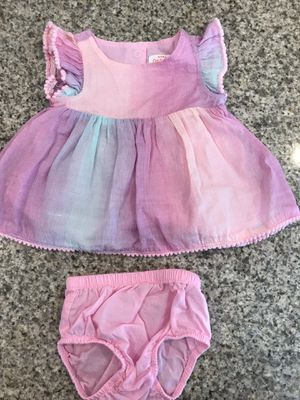 Ridiculously Cute Cat & Jack Sparkly Newborn Dress with Diaper Cover for Sale in Huntington Beach, CA
