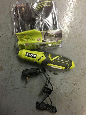 Ryobi 4-Volt Lithium Screwdriver for Sale in Mesa, AZ