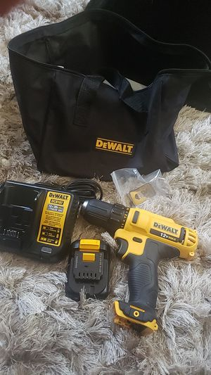 Dewalt 12V Drill driver w/ Battery and Charger for Sale in New Port Richey, FL