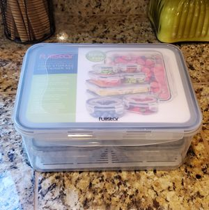 New food storage containers with lids for Sale in Sherwood, OR