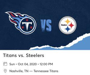 Titans vs Steelers for Sale in Murfreesboro, TN