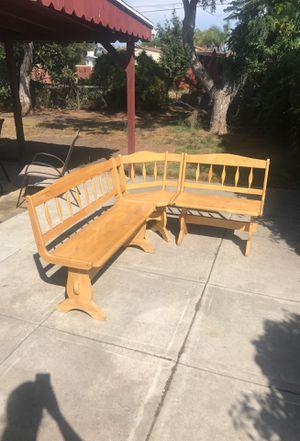 Kitchen Table Corner Nook for Sale in Chula Vista, CA